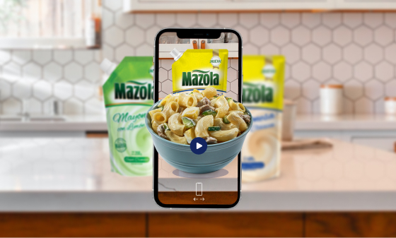 augmented reality food and beverage